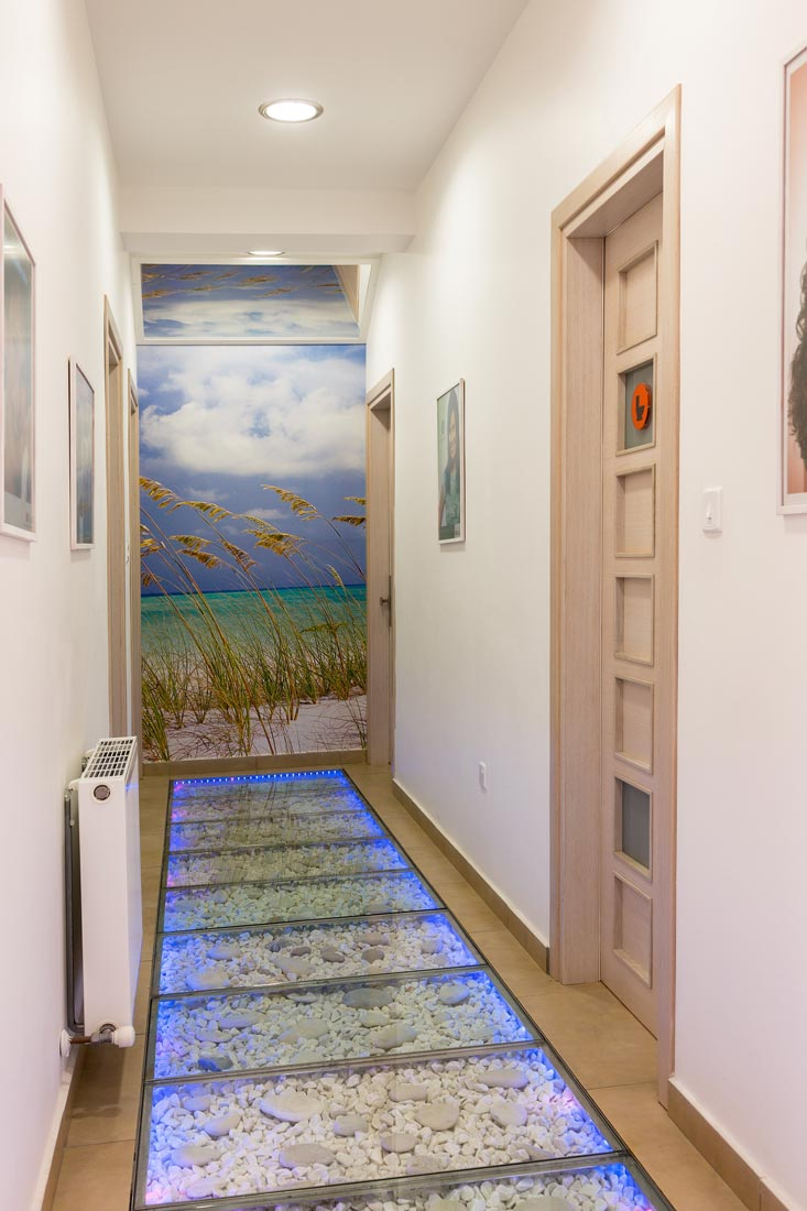 Cyprus Orthodontics and Endodontics Clinic's amazing corridor